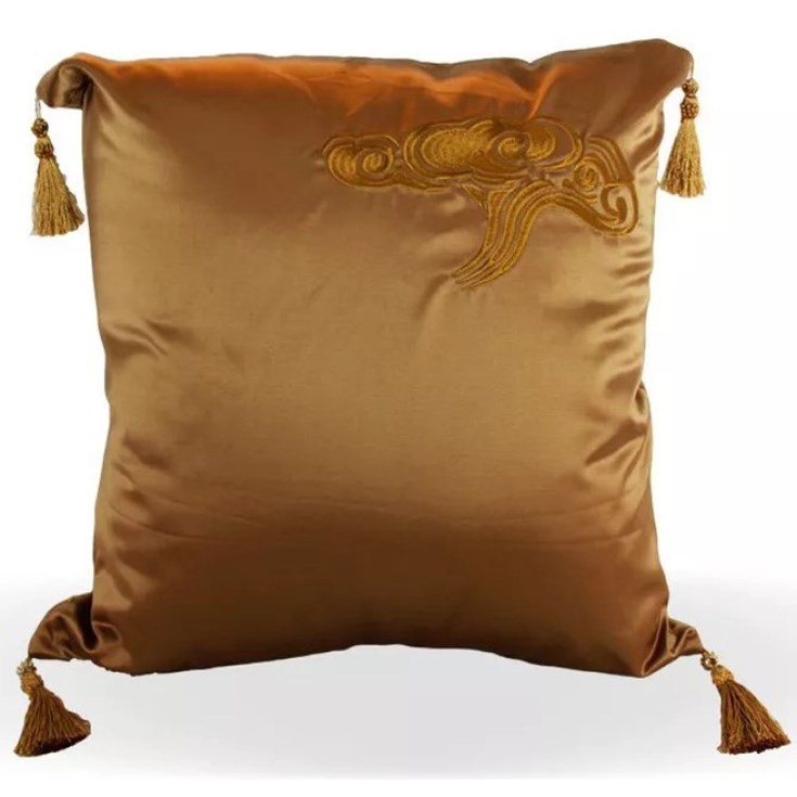 Almofada Dourada Aladim - 50cmx50cm