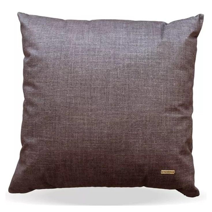Almofada Elegance Veludo Risc Musgo - 50cmx50cm