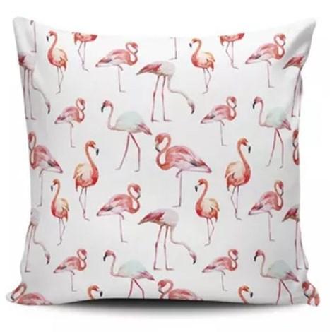 Almofada Flamingo da Ilha - 45cmx45cm