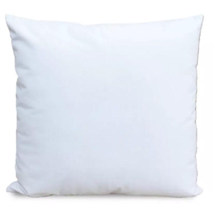 Almofada Lana Veludo Branco - 52cmx52cm