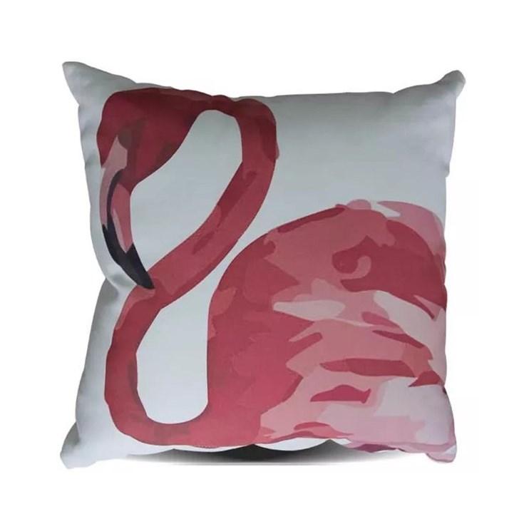 Almofada Print Flamingo Rosa - 45cmx45cm