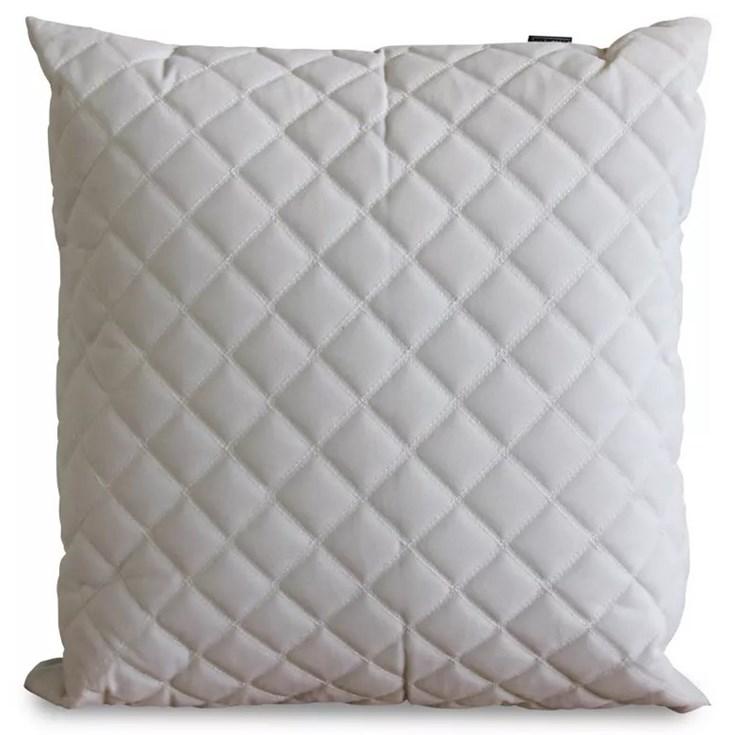 Almofada Veludo Textura Losangos - 52cmx52cm