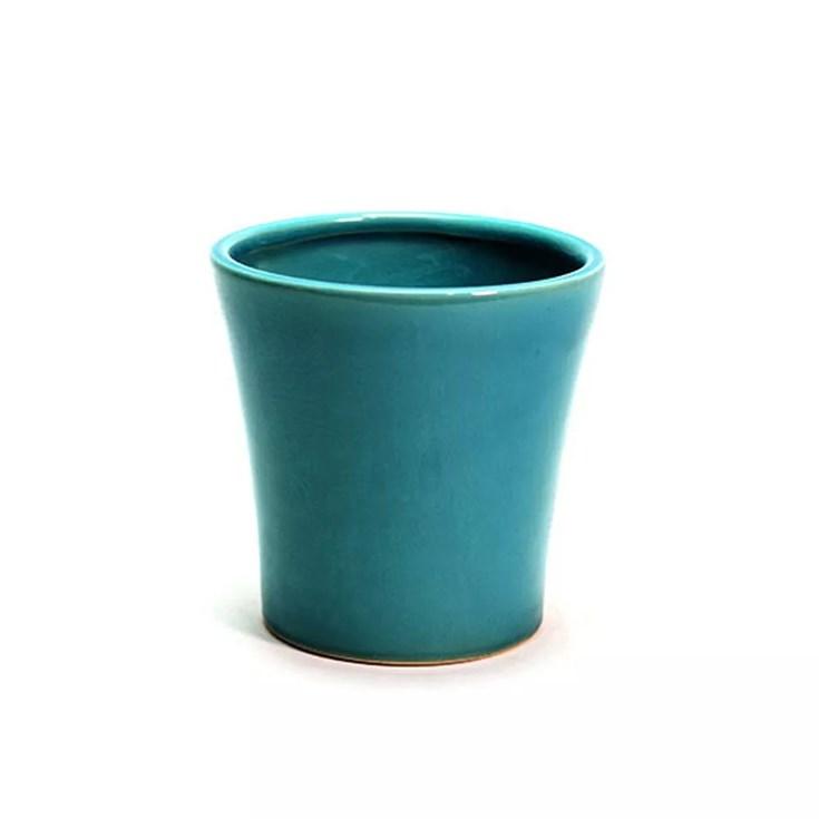 Cachepot Villeneuve Azul Turqueza Grande