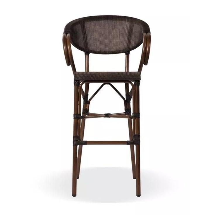 Cadeira Garden Siriú Alta Metal Imbuia