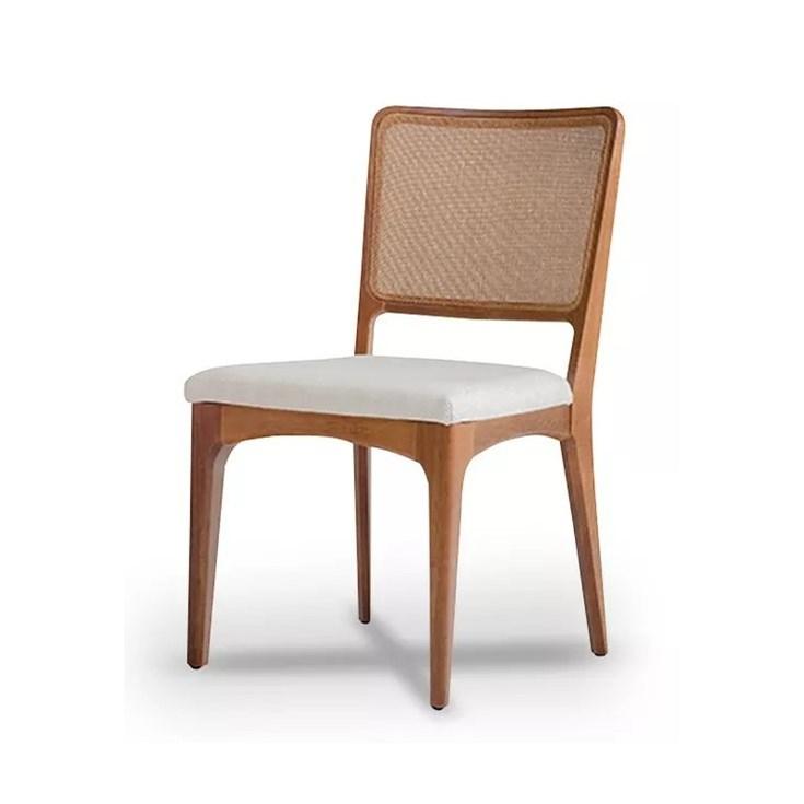 Cadeira Loft Simple Palhinha e Madeira