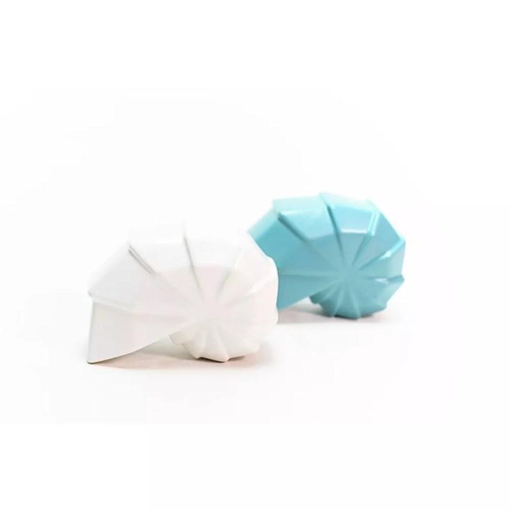 Escultura Concha Conque Origami Bleu