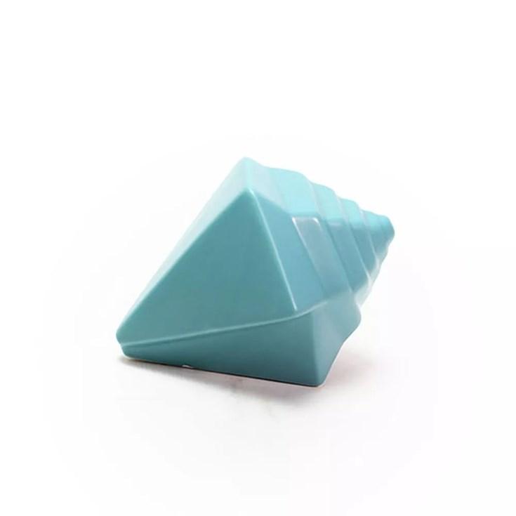 Escultura Concha Coquille Bleu - 14x10cm