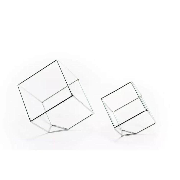 Escultura Cubo Metric  Pequeno - 15x15cm