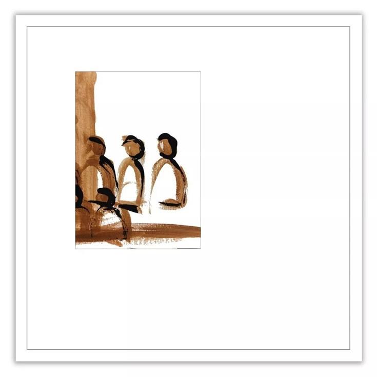 Quadro com Vidro Cinque - Coleção Noi por Lisi Wendel